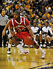 Jan 23, 2010; Columbia, MO, USA; Nebraska Cornhuskers guard Lance Jeter (34) in the first half of the game against the Missouri Tigers at Mizzou Arena in Columbia, MO. Missouri won 70-53. Mandatory Credit: Denny Medley-US PRESSWIRE