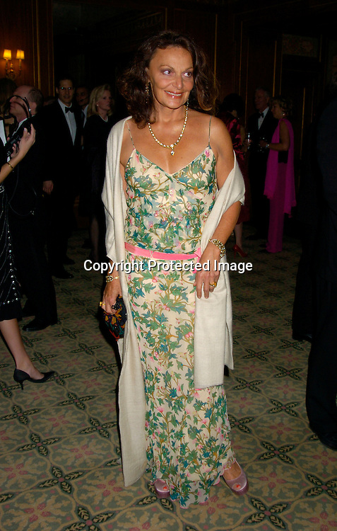 Diane Von Furstenberg..at the 2004 Pen Literary Dinner and the Presentation of Free Expression Awards  on April 20, 2004 at The ..Pierre Hotel in New York City. ..Photo by Robin Platzer, Twin Images