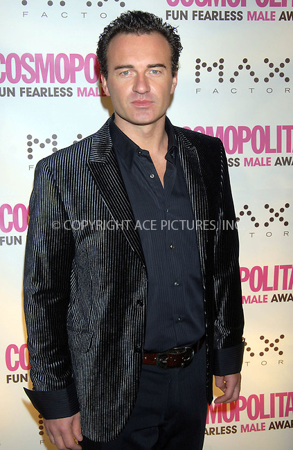 WWW.ACEPIXS.COM . . . . . ....January 22nd, 2007, New York City. ....Julian McMahon attends the Cosmopolitan Magazine Honoring Nick Lachey as Fun Fearless Man of the Year at Cipriani. ......Please byline: KRISTIN CALLAHAN - ACEPIXS.COM.. . . . . . ..Ace Pictures, Inc:  ..(212) 243-8787 or (646) 769 0430..e-mail: info@acepixs.com..web: http://www.acepixs.com