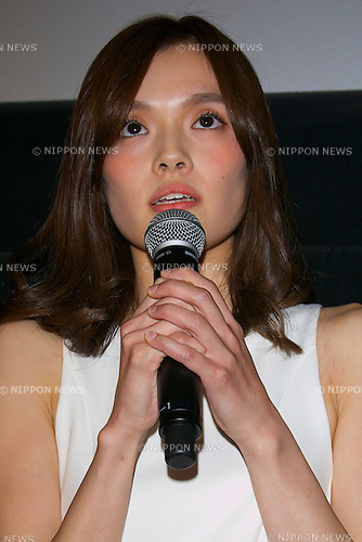 "Manami Takahashi, October 28 2014 :   Tokyo, Japan : Actress Manami Takahashi attends the stage greeting of the movie ""August in Tokyo"" at TOHO CINEMAS in Roppongi on October 28, 2014, Tokyo, Japan, as part of the Tokyo International Film Festival. The 27th Tokyo International Film Festival is one of the biggest film festivals in Asia and runs from October 23 to 31. (Photo by Rodrigo Reyes Marin/AFLO)"