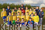 The Spa/Muckross team that competed in the Community Games soccer finals in Mastergeeha last Friday evening front row l-r: Daniel Horgan, Michael Ahern, Eoin Carroll. Middle row: Billy Carroll, Dion Marcos, Colm Hickey, Donal O'Sullivan, Michael Moynihan, Fergal O'Donoghue, Oran Claffey. Back row: Darragh Moynihan, David Carroll, Gavin O'Sullivan, Niall Moynihan, Michael Channon, Adrian Fleming, Evan Cronin, Donal O'Doherty, David Spillane, Eamon Levane, Cieran Spillane and Kianan O'Doherty