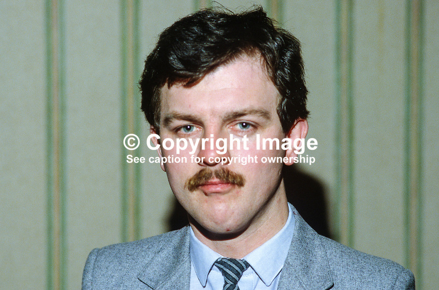 Councillor Paul O'Hare, SDLP, Strabane, N Ireland, 19850009POH..Copyright Image from Victor Patterson, 54 Dorchester Park, Belfast, UK, BT9 6RJ..Tel: +44 28 9066 1296.Mob: +44 7802 353836.Voicemail +44 20 8816 7153.Skype: victorpattersonbelfast.Email: victorpatterson@mac.com.Email: victorpatterson@ireland.com (back-up)..IMPORTANT: If you wish to use this image or any other of my images please go to www.victorpatterson.com and click on the Terms & Conditions. Then contact me by email or phone with the reference number(s) of the image(s) concerned.