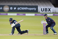 James Harris of Middlesex CCC misses an attempted sweep and Vilas stumps himduring Middlesex vs Lancashire, Royal London One-Day Cup Cricket at Lord's Cricket Ground on 10th May 2019