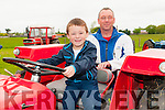 Lixnaw Vintage : Attending the  Lixnaw vintage rally on Sunday last were Daithi & his father John Laide.