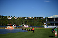 Jon Rahm (ESP) hits his approach shot on 13 during round 2 of the World Golf Championships, Dell Technologies Match Play, Austin Country Club, Austin, Texas, USA. 3/23/2017.<br /> Picture: Golffile | Ken Murray<br /> <br /> <br /> All photo usage must carry mandatory copyright credit (&copy; Golffile | Ken Murray)
