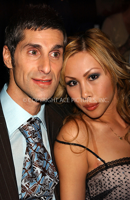 WWW.ACEPIXS.COM . . . . . ....NEW YORK, FEBRUARY 10, 2005....Perry Farrell at the Zac Posen Fall 2005 show in Bryant Park.....Please byline: KRISTIN CALLAHAN - ACE PICTURES.. . . . . . ..Ace Pictures, Inc:  ..Philip Vaughan (646) 769-0430..e-mail: info@acepixs.com..web: http://www.acepixs.com