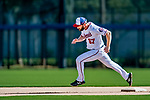 21 February 2019: Washington Nationals outfielder Hunter Jones runs bases during a Spring Training workout at the Ballpark of the Palm Beaches in West Palm Beach, Florida. Mandatory Credit: Ed Wolfstein Photo *** RAW (NEF) Image File Available ***