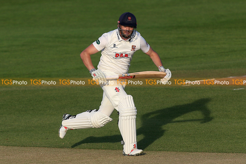 Nick Browne in batting action for Essex during Essex CCC vs Durham MCCU, English MCC University Match Cricket at The Cloudfm County Ground on 3rd April 2017
