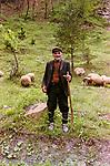 Shepherd near Buchin Prohod, 1986
