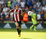 Billy Sharp of Sheffield Utd in action during the Championship match at Bramall Lane, Sheffield. Picture date 26th August 2017. Picture credit should read: Simon Bellis/Sportimage