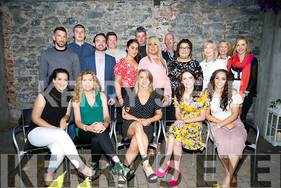 Boots and Co  enjoying  a summer BBQ at Benners Hotel on Saturday