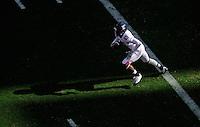 Nov. 28, 2009; Tempe, AZ, USA; Arizona Wildcats wide receiver (89) Travis Cobb runs the opening kickoff against the Arizona State Sun Devils at Sun Devil Stadium. Mandatory Credit: Mark J. Rebilas-
