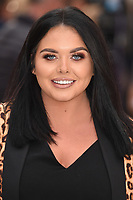 """LONDON, UK. September 12, 2018: Scarlett Moffatt at the World Premiere of """"King of Thieves"""" at the Vue Cinema, Leicester Square, London.<br /> Picture: Steve Vas/Featureflash"""