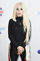 Ava Max<br /> poses on the media line before performing at the Summertime Ball 2019 at Wembley Arena, London<br /> <br /> ©Ash Knotek  D3506  08/06/2019