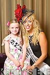 Clare Rose Marie Donnellan pictured with her Rosebud Susan Torpey at the Carlton Hotel at the Rose of Tralee on Friday.