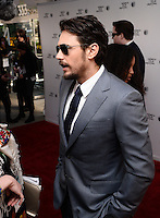 NEW YORK, NY - APRIL 24, 2014: Actor James Franco  attends the screening Premiere of  Palo Alto during the 2014 Tribeca Film Festival at SVA Theater on April 24, 2014 in New York City  © HP/Starlitepics /NortePhoto