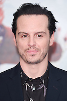 "Andrew Scott<br /> at the premiere of ""Alice Through the Looking Glass"" held at the Odeon Leicester Square, London<br /> <br /> <br /> ©Ash Knotek  D3117  10/05/2016"