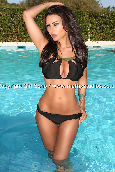 EXCLUSIVE PICTURE: GIRL SOHO / MATRIXSTUDIOS.CO.UK<br /> PLEASE CREDIT ON ALL USES<br /> <br /> WORLD RIGHTS<br /> <br /> <br /> ***FEES TO BE AGREED BEFORE USE***<br /> <br /> Sammy Braddy 2016 calendar shoot<br /> <br /> REF: GSY 152295