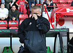 Chris Wilder manager of Sheffield Utd during the Carabao Cup round One match at Bramall Lane Stadium, Sheffield. Picture date 9th August 2017. Picture credit should read: Jamie Tyerman/Sportimage