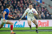 Twickenham, United Kingdom. 7th February, Jonny MAY, England vs France, 2019 Guinness Six Nations Rugby Match   played at  the  RFU Stadium, Twickenham, England, <br /> &copy; PeterSPURRIER: Intersport Images