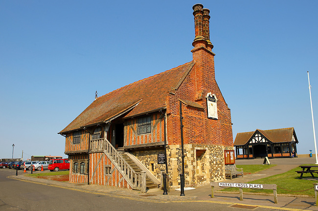 Old Tudor Town Hall  - Aldeburgh, Suffolk, England