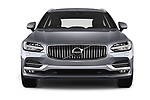 Car photography straight front view of a 2018 Volvo V90 Inscription 5 Door Wagon Front View