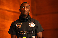 Ekow Essuman during a Press Conference at the Town Hall & Apartments, Bethnal Green on 9th September 2020