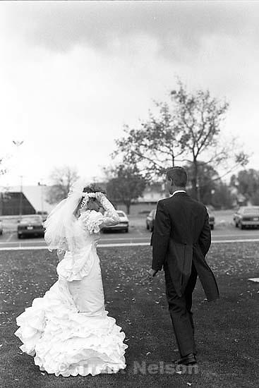 Christian Godfrey and Kathy Godfrey wedding shots.<br />