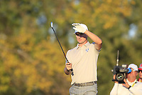 Justin Rose (ENG) (Team Europe) on the 17th tee during Saturday afternoon Fourball at the Ryder Cup, Hazeltine National Golf Club, Chaska, Minnesota, USA.  02/10/2016<br /> Picture: Golffile | Fran Caffrey<br /> <br /> <br /> All photo usage must carry mandatory copyright credit (&copy; Golffile | Fran Caffrey)