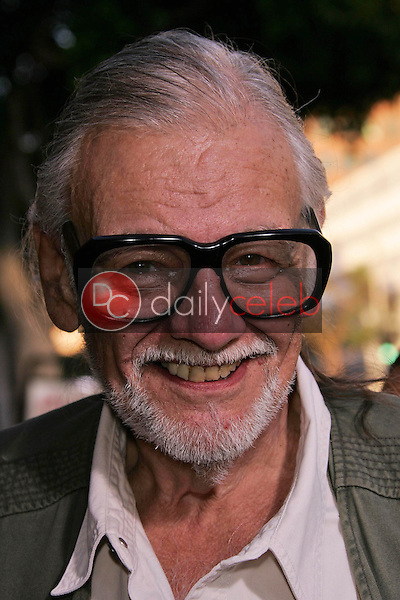 George A. Romero<br /> at the premiere of Universal's &quot;Land of the Dead,&quot; Mann National Theater, Westwood, CA 06-20-05<br /> David Edwards/DailyCeleb.Com 818-249-4998