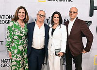 "BEVERLY HILLS - MAY 9: (L-R) National Geographic Global Scripted Content & Documentary Films EVP Carolyn Bernstein, Fox 21 Television Studios President Albert J. Salke, National Geographic Global Television Networks President Courteney Monroe, and Executive Producer David Zucker attend the L.A. premiere of National Geographic's 3-Night Limited Series ""The Hot Zone"" at the Samuel Goldwyn Theater on May 9, 2019 in Beverly Hills, California. The Hot Zone premieres Monday, May 27, 9/8c. (Photo by Frank Micelotta/National Geographic/PictureGroup)"