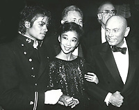 Michael Jackson, Kathy Lee and Yul Brynner<br /> 1983 <br /> Credit:  John Barrett/PHOTOlink/MediaPunch