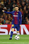 UEFA Champions League 2017/2018.<br /> Quarter-finals 1st leg.<br /> FC Barcelona vs AS Roma: 4-1.<br /> Lionel Messi.