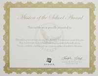 The Harker School - SW - Schoolwide - EOY Awards for Individual Students at each division - photos include a sample of Award Certificates for each division plus this year's US Awardees - Photo by Kyle Cavallaro