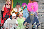 Taking part in the Fancy Dress parade in Lixnaw on Sunday were in front from left, Bernie OShea (Chef at The Railway Bar), Debra Buckley (70s chic) and Bernie OSullivan (Day in the Bog). Back from left, Marie Sheehy (go go dancer), Gerry Buckley (Van Morrison), Bernie Prendiville and Catherine Murnane (better half of Abba)..