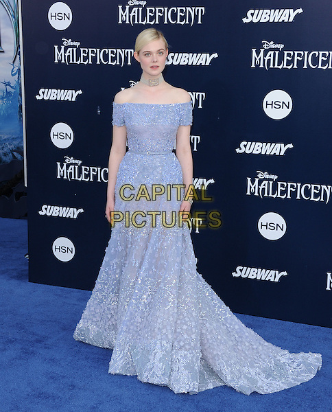 Elle Fanning attends The World Premiere of Disney's &quot;Maleficent&quot; held at The El Capitan Theatre in Hollywood, California on May 28,2014                                                                               <br /> CAP/DVS<br /> &copy;DVS/Capital Pictures