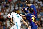 Supercopa de Espa&ntilde;a - Vuelta<br /> R. Madrid vs FC Barcelona: 2-0.<br /> Karim Benzema, Gerard Pique &amp; Sergi Roberto.