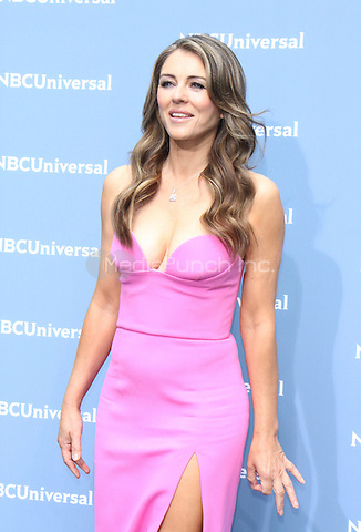 NEW YORK, NY - MAY 16: Elizabeth Hurley at the NBCUniversal 2016 Upfront at Radio City Music Hall in New York City on May 16, 2016. Credit: RW/MediaPunch