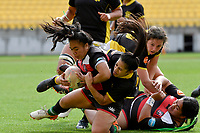 Leititia Vaka of Counties Manukau in action during the Farah Palmer Cup - Wellington Pride v Counties Heat at Westpac Stadium, Wellington, New Zealand on Sunday 15 September 2019. <br /> Photo by Masanori Udagawa <br /> www.photowellington.photoshelter.com