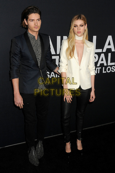 10 February 2016 - Los Angeles, California - Will Peltz, Nicola Peltz. Saint Laurent At The Palladium held at the Hollywood Palladium. <br /> CAP/ADM/BP<br /> &copy;BP/ADM/Capital Pictures