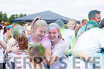 A colourful display at the colour run in Killarney on Sunday.