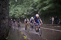 Julien Vermote (BEL/Etixx-Quickstep) racing in the rain<br /> <br /> 50th GP Jef Scherens 2016