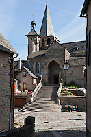 Europe/France/Midi-Pyrénées/12/Aveyron/Estaing: Eglise Saint-Fleuret