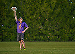 29 May 2015: Bellows Falls High School plays The Sharon Academy in the second round of the VYUL State Ultimate Disk Championships at Bombardier Park in Milton, Vermont. Mandatory Credit: Ed Wolfstein Photo *** RAW (NEF) Image File Available ***