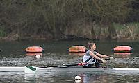 Caversham. Berkshire. UK<br /> Susannah DUNCAN.<br /> 2016 GBRowing U23 Trials at the GBRowing Training base near Reading, Berkshire.<br /> <br /> Monday  11/04/2016 <br /> <br /> [Mandatory Credit; Peter SPURRIER/Intersport-images]