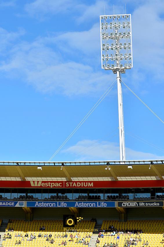A League Football - Wellington Phoenix v Perth Glory at Westpac Stadium, Wellington, New Zealand on Sunday 20 March 2016.<br /> Photo by Masanori Udagawa. <br /> www.photowellington.photoshelter.com.