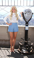 NEW YORK, NY-July 11: Julianne Hough promote the 2nd season of  NBC's series Running Wild with Bear Grylls at Empire State Building Observation Deck in New York. NY July 11, 2016. Credit:RW/MediaPunch