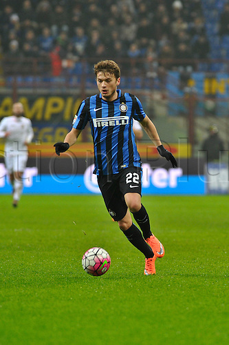 06.03.2016. Milan, Italy.  Adem Ljajic of FC Inter in action during the Italian Serie A League soccer match between Inter Milan and US città Palermo at San Siro Stadium in Milan, Italy.