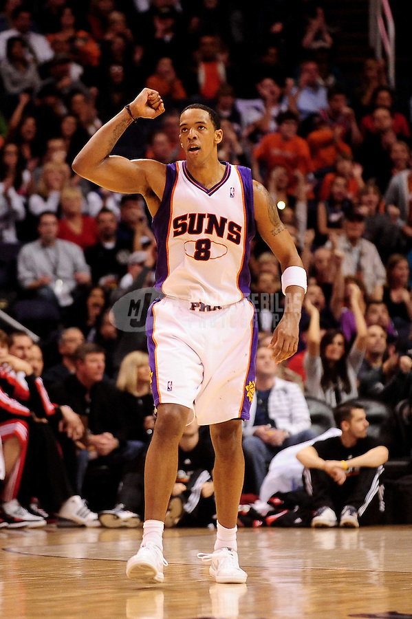 Jan. 22, 2010; Phoenix, AZ, USA; Phoenix Suns center (8) Channing Frye against Chicago Bulls at the US Airways Center. Mandatory Credit: Mark J. Rebilas-