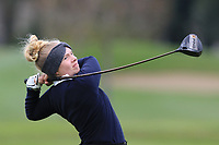 Lisa Marie Schurnacher (GER) on the 15th tee during Round 1 of the Irish Girls U18 Open Stroke Play Championship at Roganstown Golf &amp; Country Club, Dublin, Ireland. 05/04/19 <br /> Picture:  Thos Caffrey / www.golffile.ie